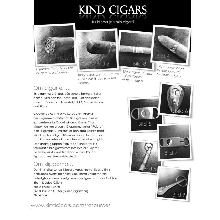 Att klippa cigarren…