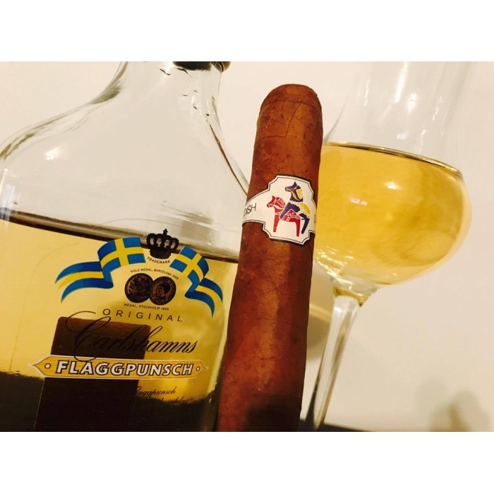 Cigarr och dryckesmatchning – Swedish Delight och Punch