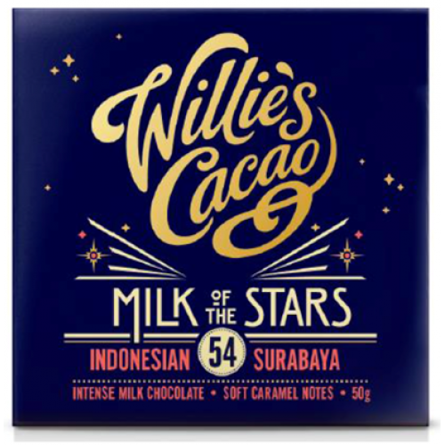 Willies Cacao - 50g - Milk of the Stars 54%