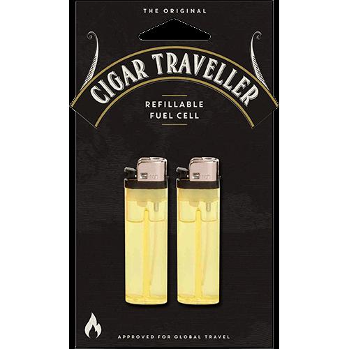 Cigar Traveller - 2-pack påfyllbara reservtändare