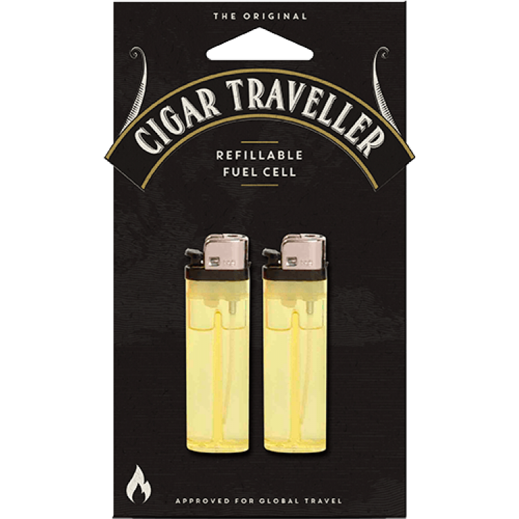 Cigar Traveller - 2-pack refillable fuel cell