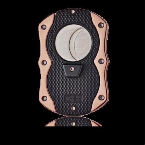 Colibri Monza dubbelgiljotin - svart/roséguld