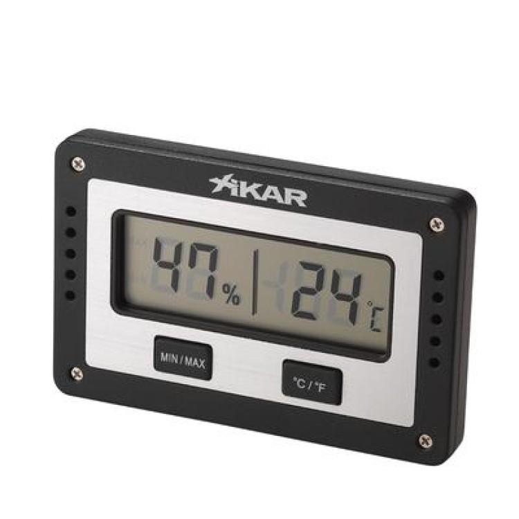 Xikar digital hygrometer - rectangular