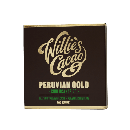 Willies Cacao - 50g - Peruvian Gold 70%