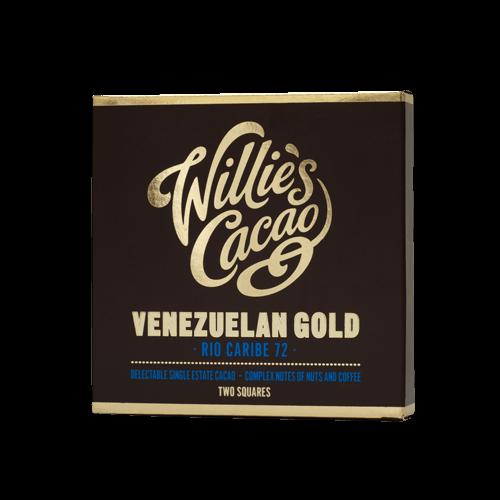 Willies Cacao - 50g - Venezuelan Gold Rio Caribe 72%