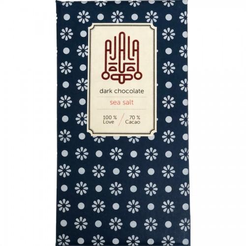 Ajala Havssalt 70% mörk choklad - 45g