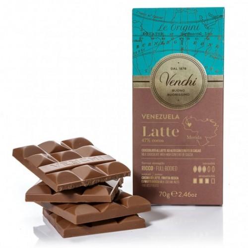 Venchi Venezuela 47% mjölkchoklad - 70g