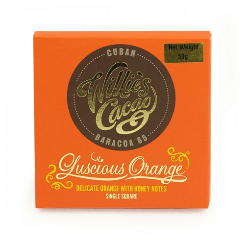 Willies Cacao - 50g - Luscious Orange 65%