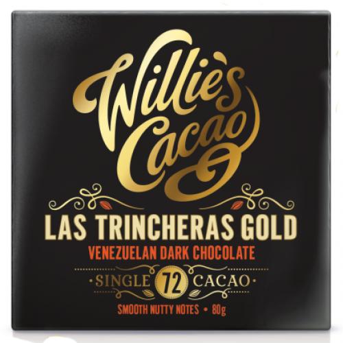 Willies Cacao - 50g - Venezuelan Gold Las Trincheras 72%