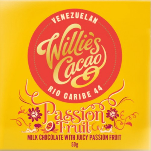 Willies Cacao - 50g - Passion Fruit 44%