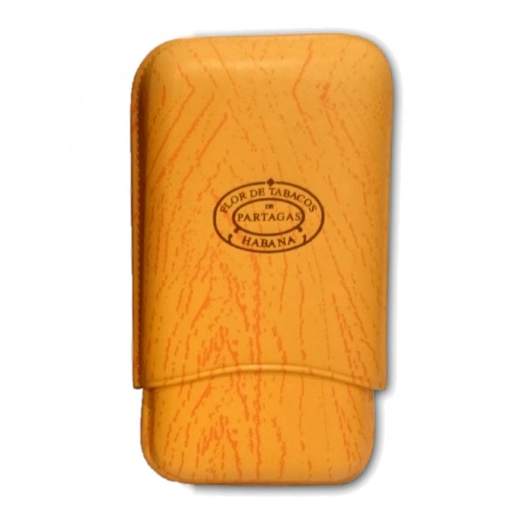 Partagas leather case for 3 cigars