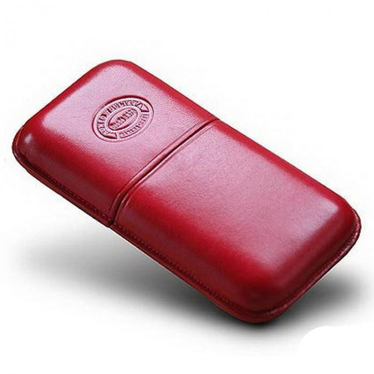 Romeo Y Julieta leather case for 3 cigars