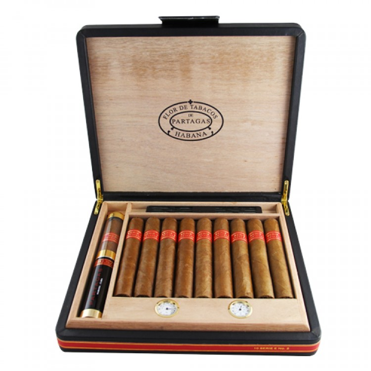 Partagas Serie E No. 2 - travel humidor