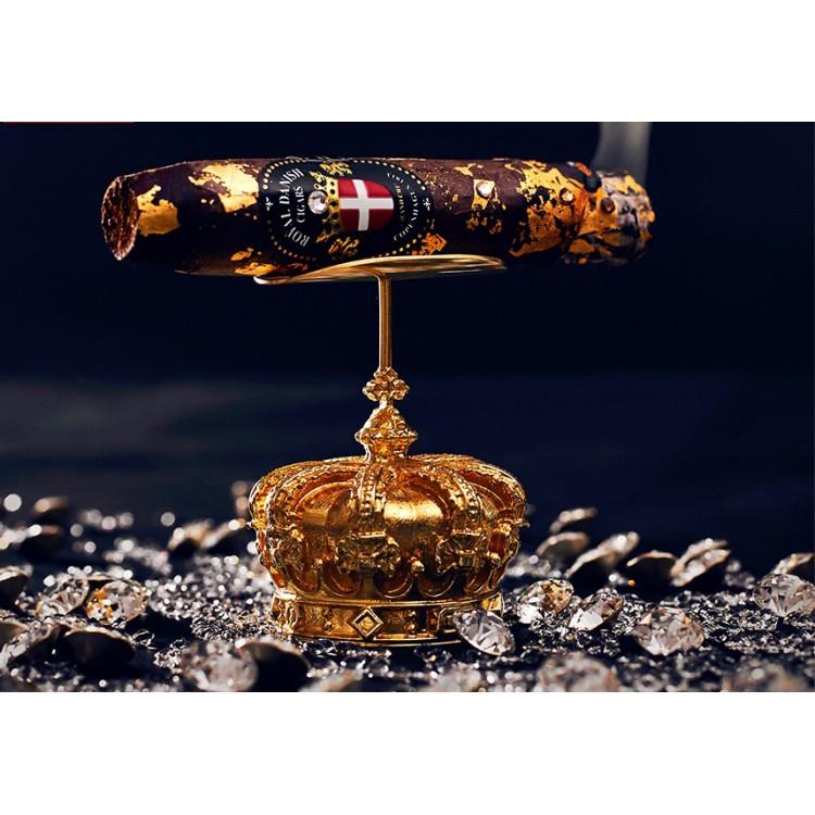 Royal Danish Cigars 24K Guld & Swarovski Cigarr
