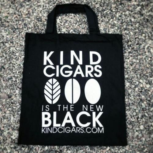 Kind Cigars cotton bag - short handles
