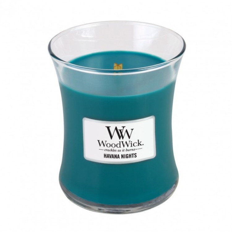 WoodWick scented candle medium - Havana Nights