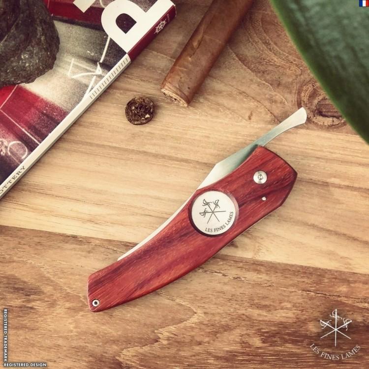Les Fines Lames cigar knife - Padauk edition