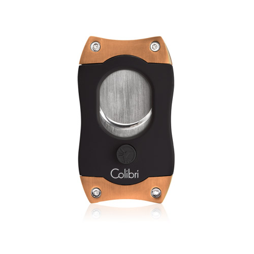 Colibri S-cut - black/rose gold
