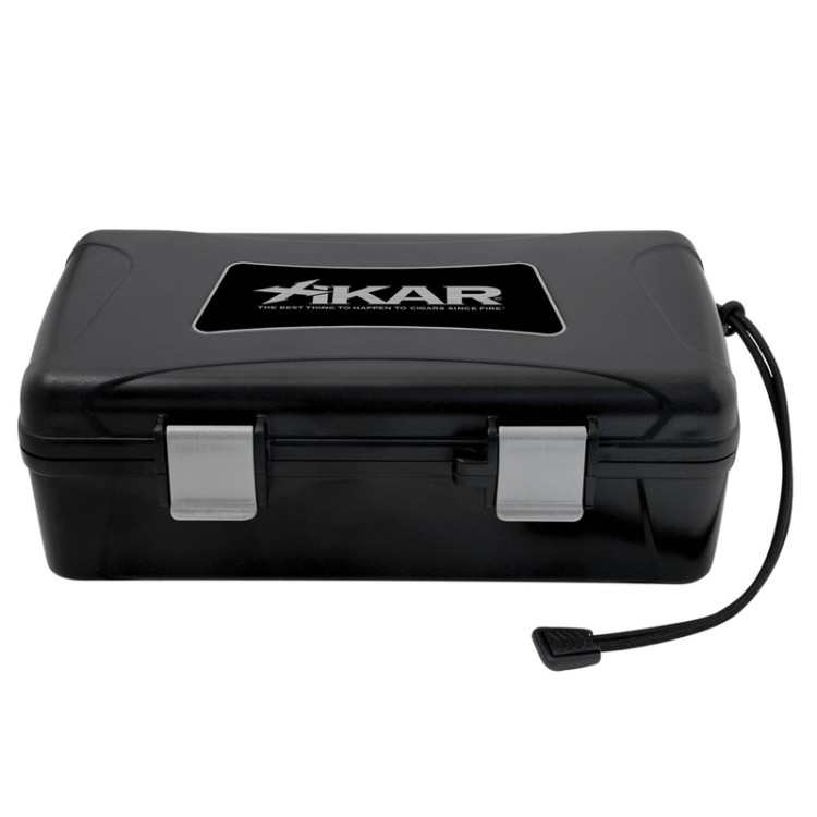 Xikar travel humidor for 10 cigars - black
