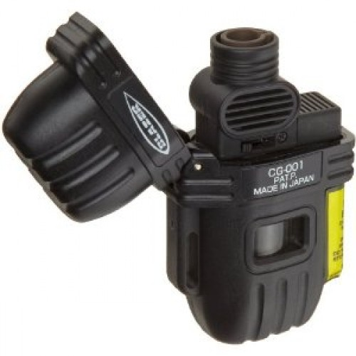 Blazer CG-001 single torch lighter - black