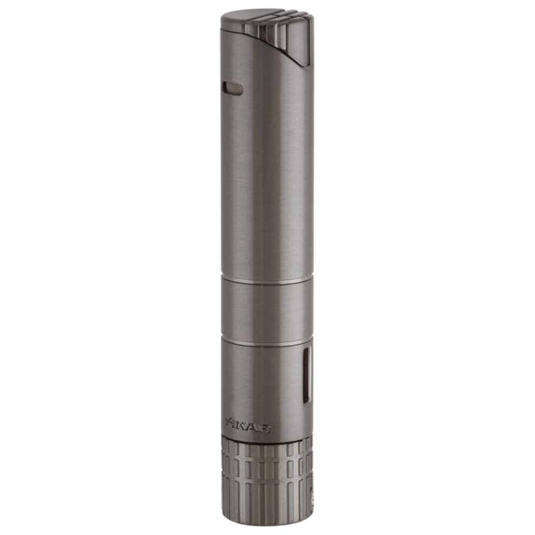 Xikar Turrim single torch lighter - gunmetal