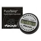Xikar Digital Hygrometer Round