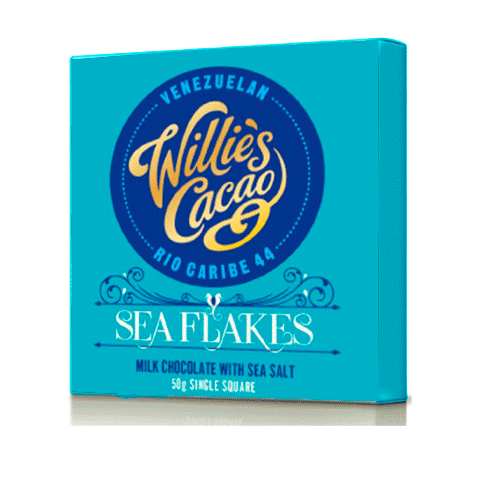 Willies Cacao - 50g - Sea Flakes 44%