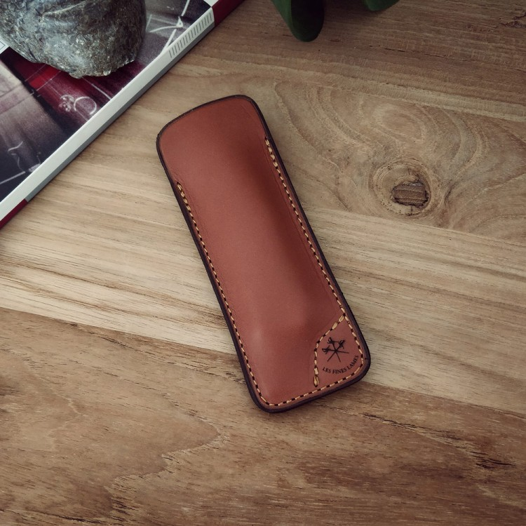 Les Fines Lames Le Petit Cigar Knife Sheath - Tan
