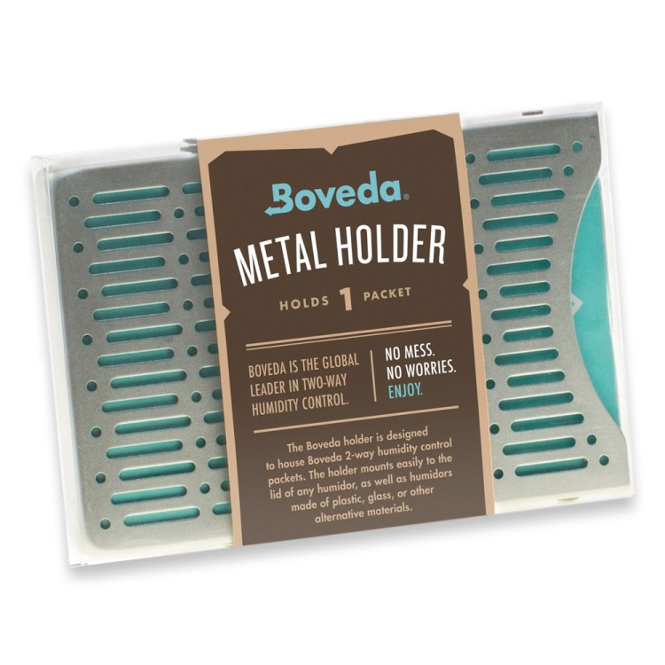 Boveda - metal holder for 1 60g