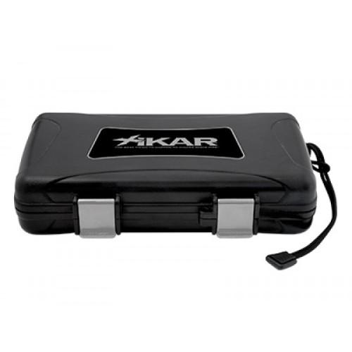 Xikar travel humidor for 5 cigars - black