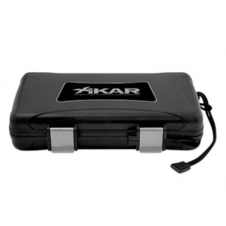 Xikar travel humidor for 5 cigars - black