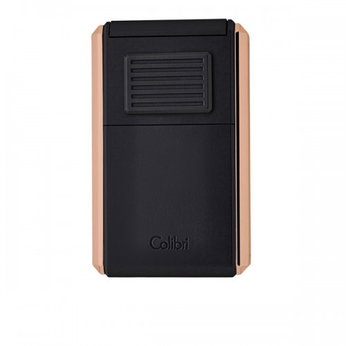 Colibri Astoria triple torch lighter - rose gold