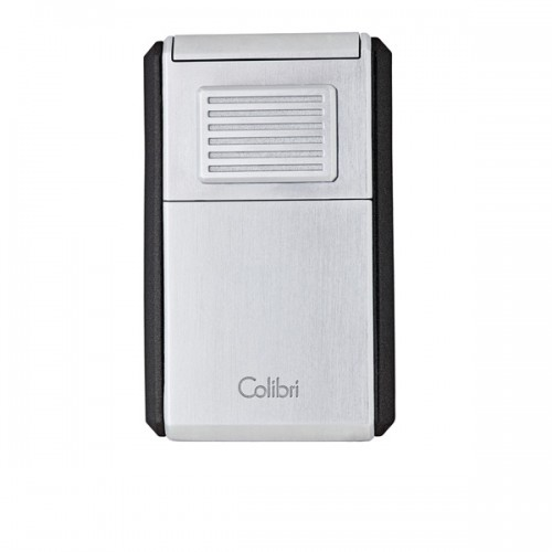 Colibri Astoria triple torch lighter - silver