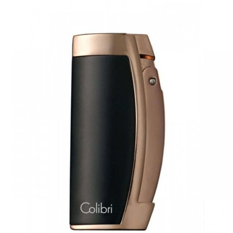 Colibri Enterprise triple torch lighter - rose gold