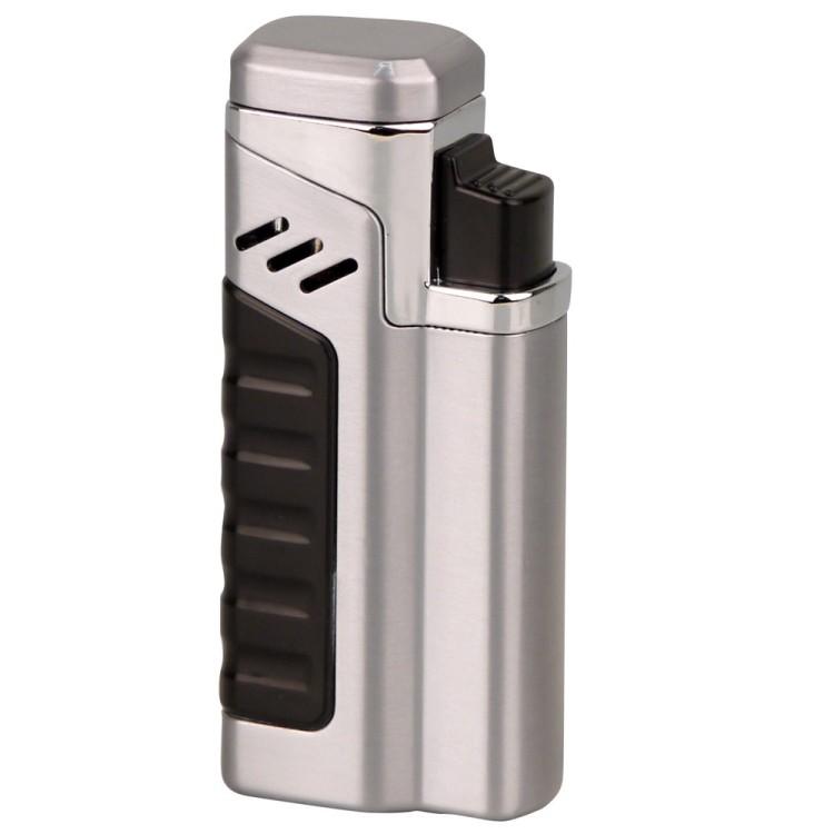 Quad torch lighter - silver