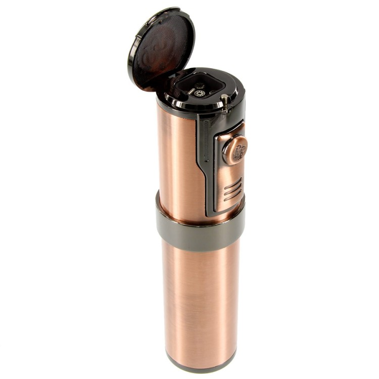 Rocky Patel Diplomat II - 5 torch lighter - copper