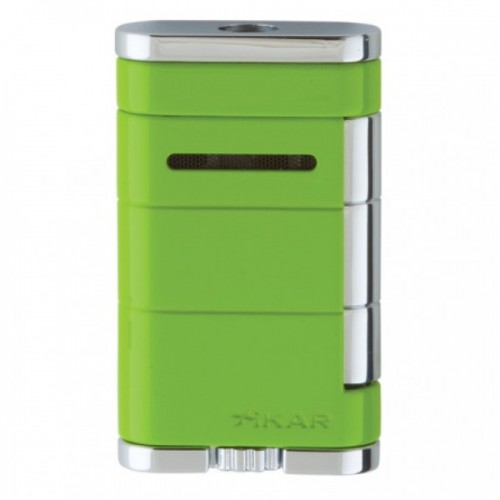 Xikar Allume single torch lighter - green