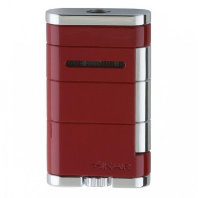Xikar Allume single torch lighter - red