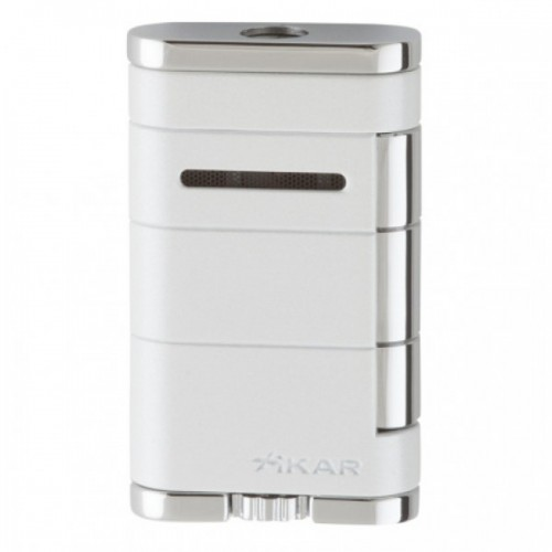 Xikar Allume single torch lighter - white