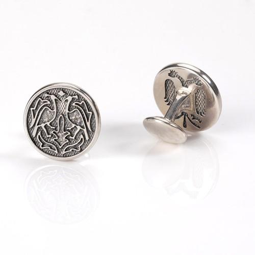 Villa Casdagli Collection manschettknappar - silver