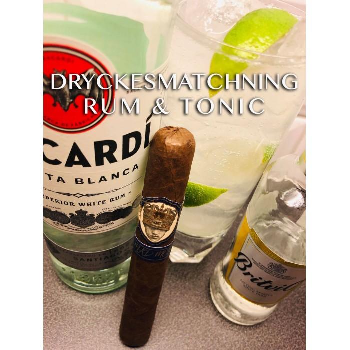 Cigarr och dryckesmatchning - Del 58 Caldwell Mad  MoFo med Rum & Tonic