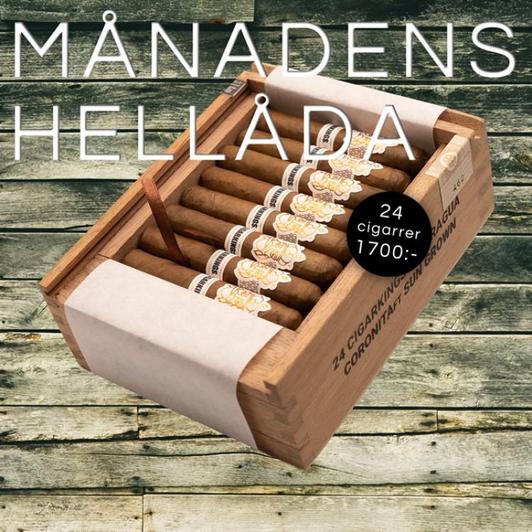 MÅNADENS HELLÅDA AUGUSTI - CigarKings Nicaragua Sun Grown Coronita 24p