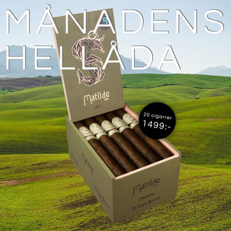 Box of the month - Matilde Oscura Toro Bravo 20p