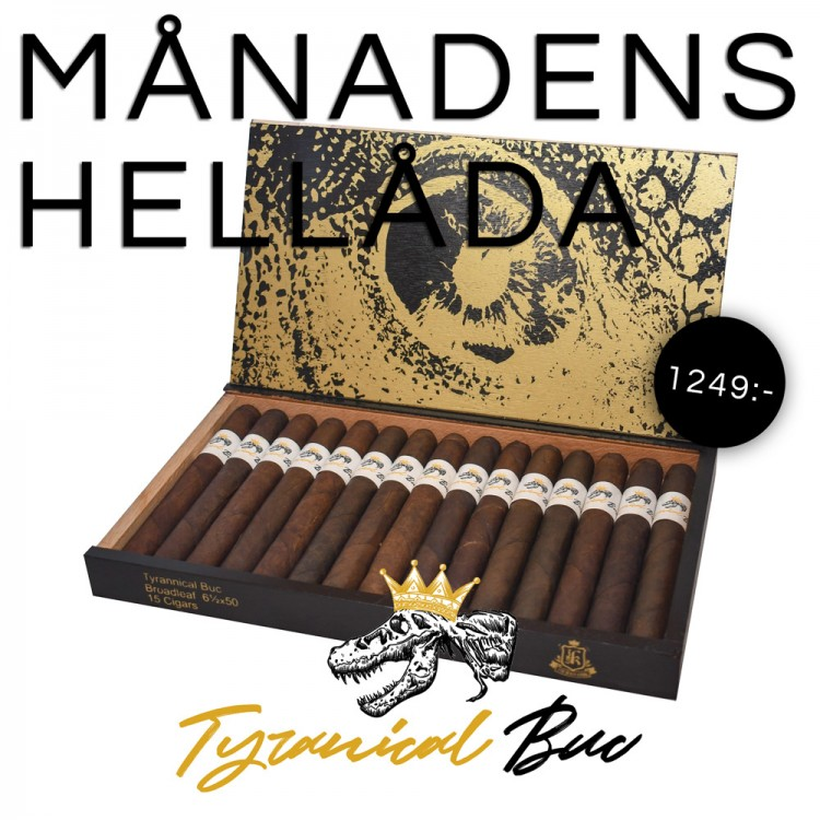 Box of the month - Jas Sum Kral Tyrannical Buc Maduro Dobles Toro 15p