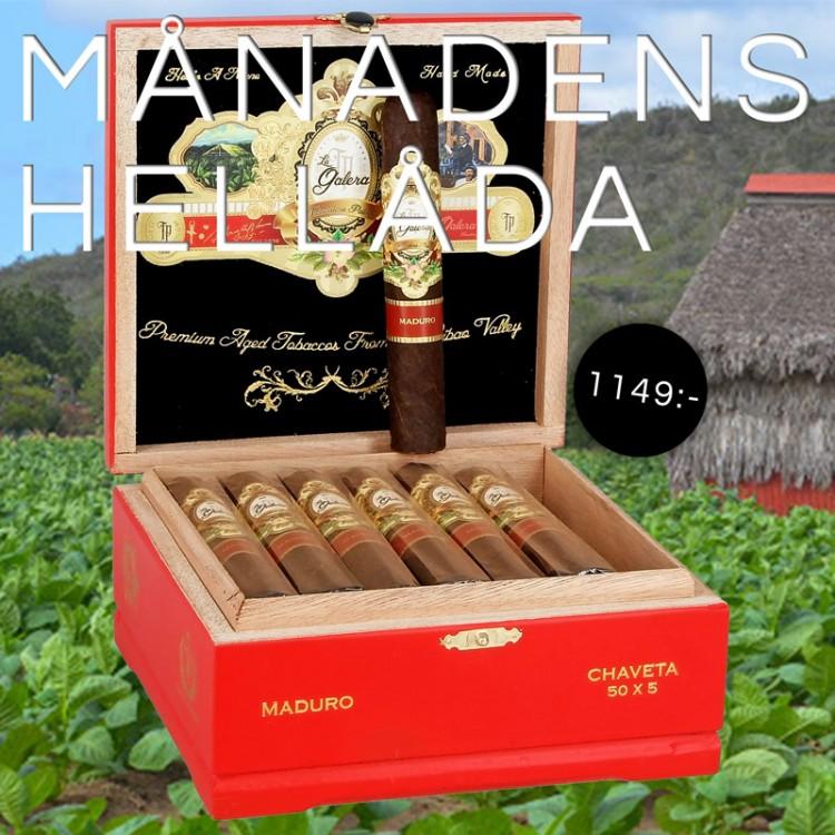 Box of the month - La Galera Maduro Chaveta Robusto 20p