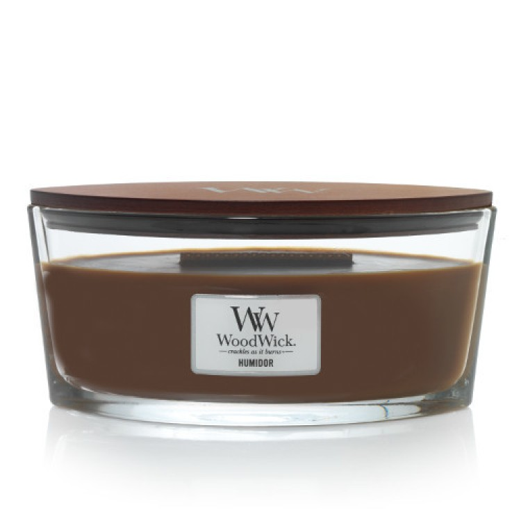WoodWick HeartWick scented candle extra large - Humidor