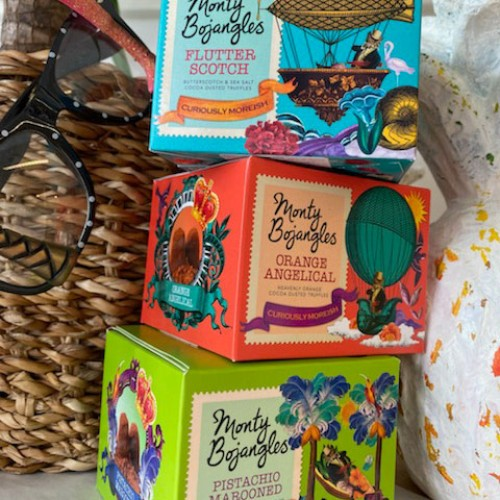 Monty Bojangles chokladtryfflar 3p - 3 x 100g