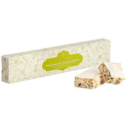 Pandora Bell handgjord honungsnougat med mandel och pistagenötter 100g
