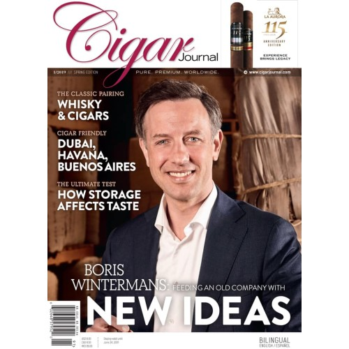 Cigar Journal nummer 1 - 2019