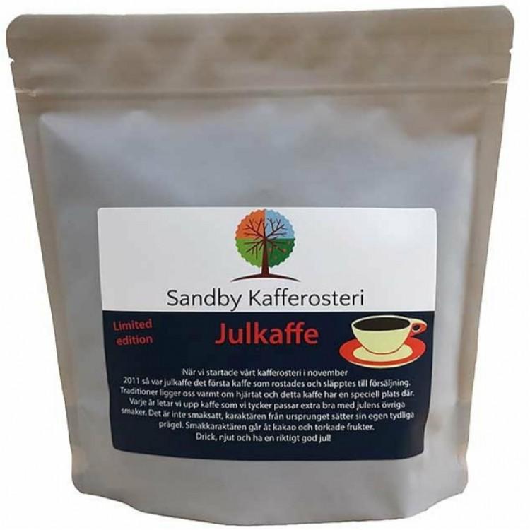 Sandby Kafferosteri - Julkaffe 2020 - Mörkrostat kaffe, 250g